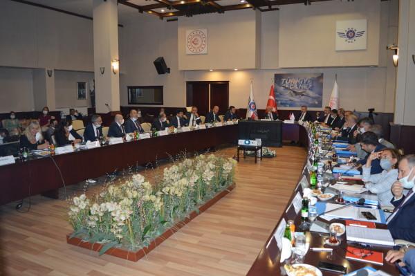 19. Lojistik Koordinasyon Kurulu Toplantısı Gerçekleştirildi