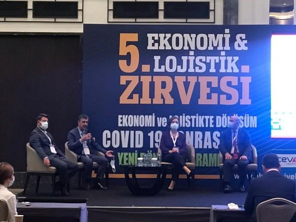 Ekonomi ve Lojistik Zirvesine katılım sağlandı.