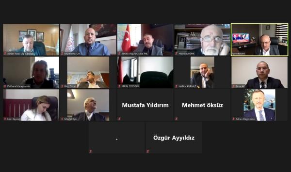Karayolu Yolcu Taşımacılığı Sektörleriyle Online Platformda Bir Araya Gelindi