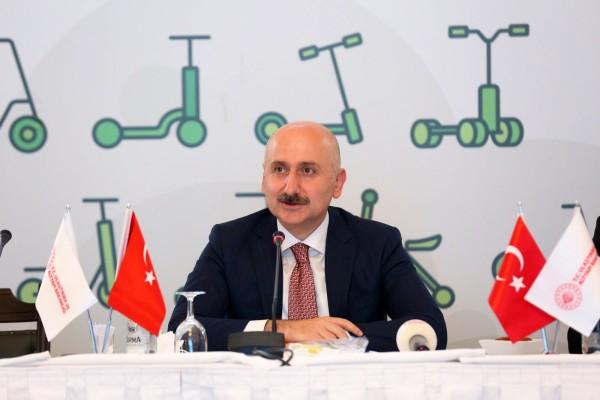 Ulaştırma ve Altyapı Bakanımız Sayın Adil Karaismailoğlu başkanlığında e-skuter toplantısı gerçekleştirdik.