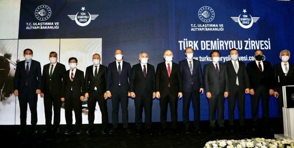 Türk Demiryolu Zirvesine katılm sağladık.