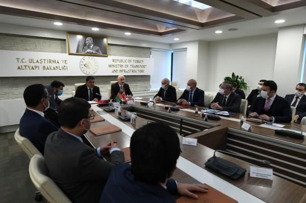 Türkiye-Afganistan Kara Ulaştırması Karma Komisyonu Gerçekleştirildi