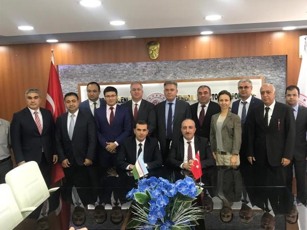 Türkiye-Özbekistan Kara Ulaştırması Karma Komisyon Toplantısı