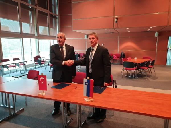 Türkiye-Slovenya Kara Ulaştırması Karma Komisyon Toplantısı