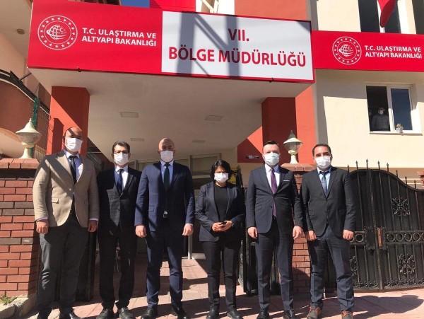 VII. (Gaziantep) Bölge Müdürlüğü'nü Ziyaret Ettik