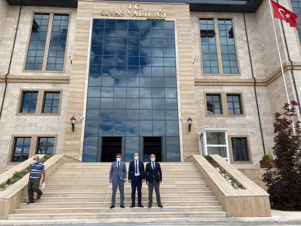 XII. Bölge Müdürlüğümüzü (Sivas) ziyaret ettik.