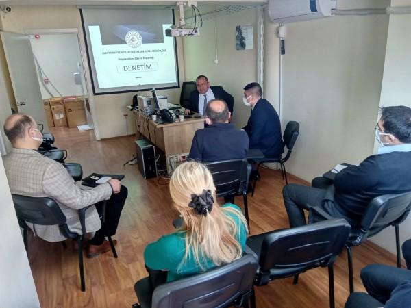 XIII. Bölge Müdürlüğümüz (Bolu)' da Eğitim Faaliyetleri ve Saha Ziyaretleri Gerçekleştirildi